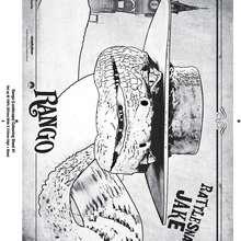 Dibujo para colorear : la serpiente de Rango