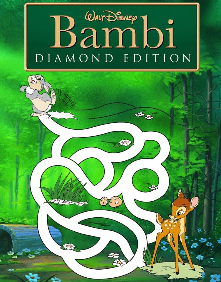 Juegos gratuitos de juego de laberinto bambi  eshellokidscom