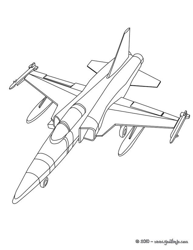 Dibujos para colorear avión con hélice de velocidad constante - es ...
