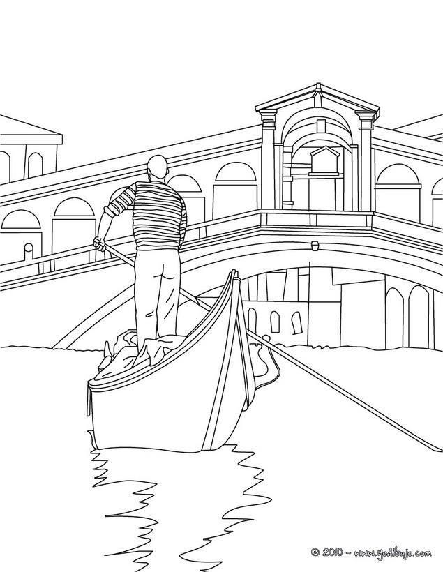 Dibujos para colorear puente del crucero - es.hellokids.com