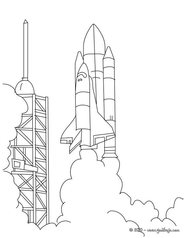 Dibujos para colorear COHETES - #NNB# dibujos de cohete para pintar ...