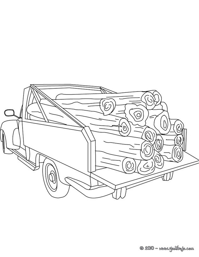 Dibujos Para Colorear Camionetas 5 Diujos De Camioneta