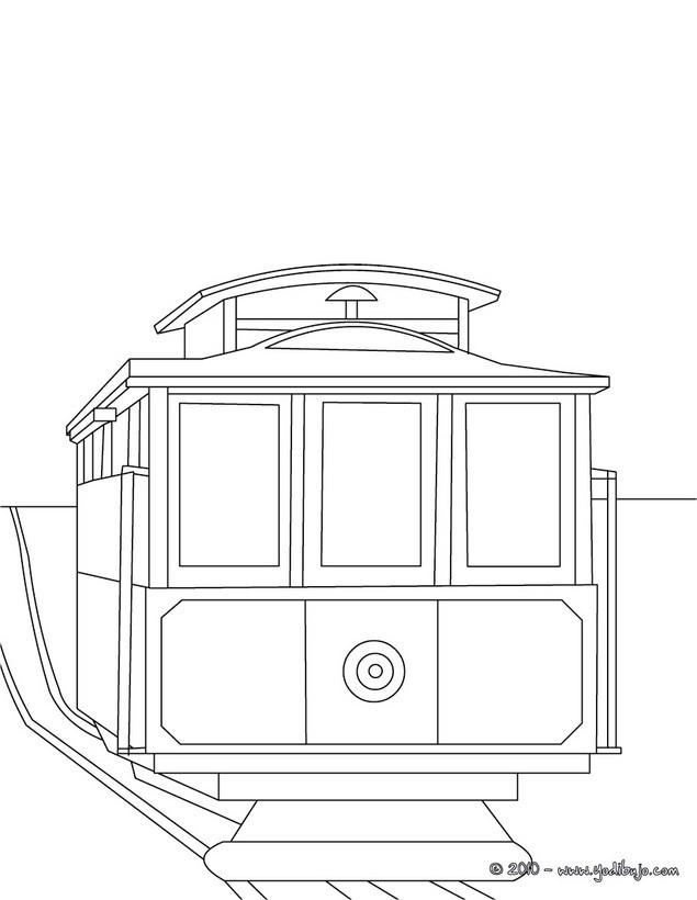 Dibujos para colorear vehiculos - es.hellokids.com