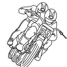 Dibujo de MOTOCROSS para colorear - Dibujos para Colorear y Pintar - Dibujos para colorear VEHICULOS - Dibujos para colorear MOTOS