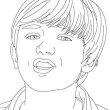 Dibujo para colorear Greyson Chance gratis - Dibujos para Colorear y Pintar - Dibujos para colorear FAMOSOS - GREYSON CHANCE para colorear