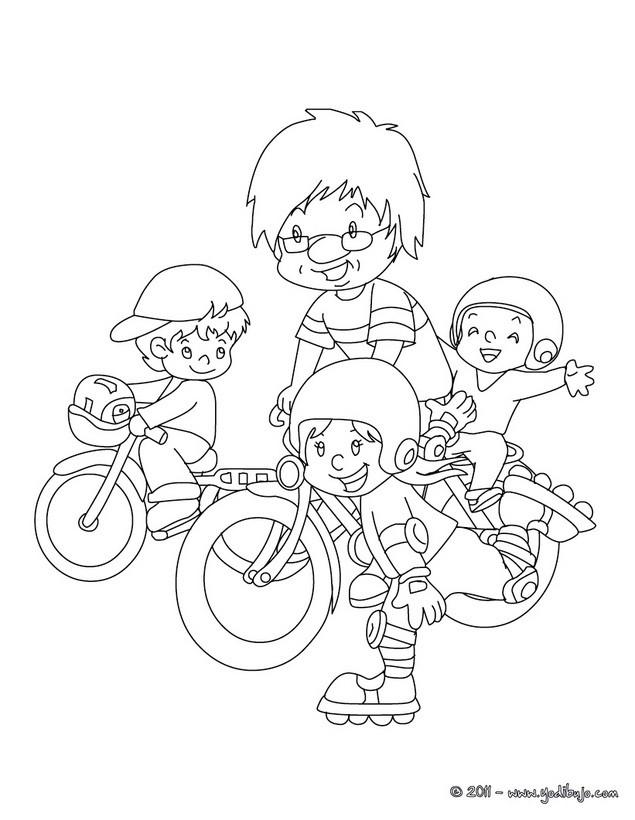 Dibujos para colorear regalo del dia del padre - es.hellokids.com