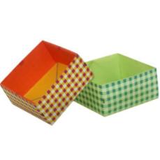 ORIGAMI caja cuadrada