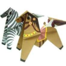 Origami CABALLOS - Manualidades para niños - ORIGAMI - ORIGAMI animales