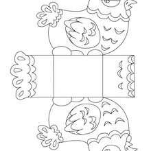 Dibujo de gallina para colorear y recortar - Dibujos para Colorear y Pintar - Dibujos para colorear FIESTAS - Dibujos para colorear y recortar PASCUA