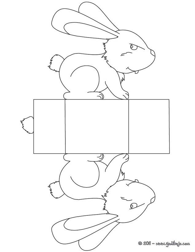 Dibujos para colorear conejito - es.hellokids.com