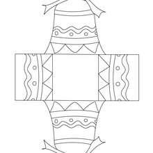 Dibujo de campana para colorear y recortar - Dibujos para Colorear y Pintar - Dibujos para colorear FIESTAS - Dibujos para colorear y recortar PASCUA