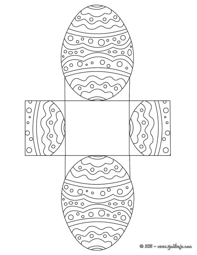Dibujo para colorear : Huevo