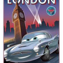 Dibujo Cars 2 en londres
