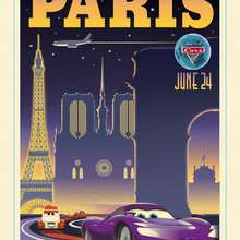 Dibujo Cars 2  en Paris