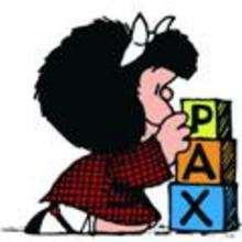 Mafalda y los cubitos