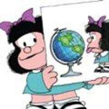 Mafalda y el globo
