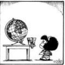 Mafalda historieta - Dibujar Dibujos - Dibujos para VER - Dibujos MAFALDA