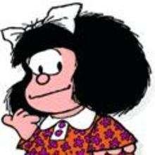 Mafalda super guapa