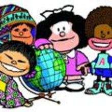 Imagen : Mafalda y sus amigos