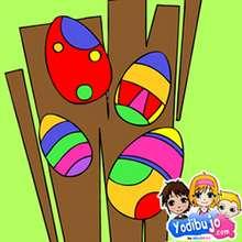 Rompecabezas huevos de pascua