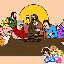Puzzle Jesucristo La Cena