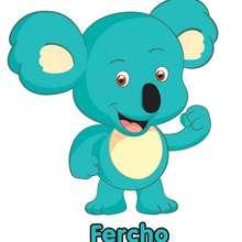 Dibujo de FERCHO el koala del Club Oca