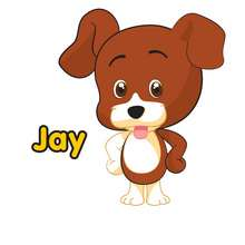 Imagen : Dibujo de JAY el perro del Club Oca
