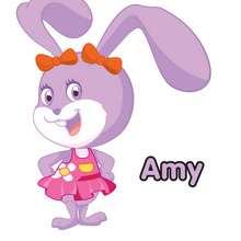 Imagen : Dibujo de AMY la coneja del Club Oca