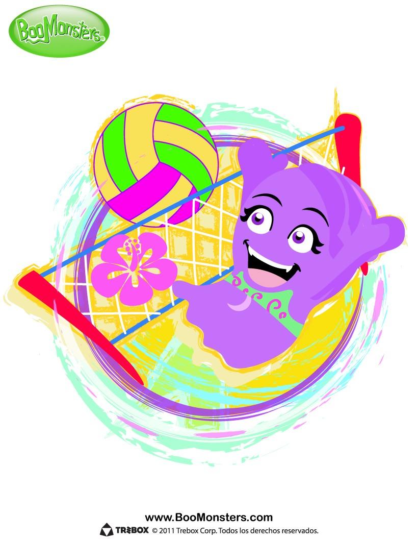 Voleibol : Dibujos para Colorear, Dibujo para Niños, Juegos ...
