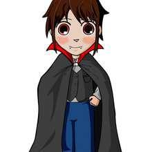 dibujos de vampiro Matias - Dibujar Dibujos - Dibujos infantiles para IMPRIMIR - Dibujos de PERSONAJES para imprimir - Dibujos de MATIAS par imprimir