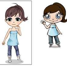 dibujos de la nueva andrea - Dibujar Dibujos - Dibujos infantiles para IMPRIMIR - Dibujos de PERSONAJES para imprimir - Dibujos de ANDREA para imprimir