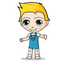 dibujos de Teo feliz - Dibujar Dibujos - Dibujos infantiles para IMPRIMIR - Dibujos de PERSONAJES para imprimir - Dibujos de TEO para imprimir