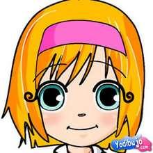 Puzzle en línea : Puzzle de retrato de niña sonrienddo