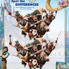 Juego de las diferencias Enredados - Juegos divertidos - Juegos para IMPRIMIR - Juegos de ENREDADOS