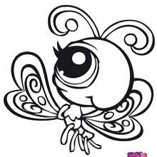 MARIPOSA littlest pet shop