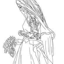 Kate Middleton con su vestido de novia