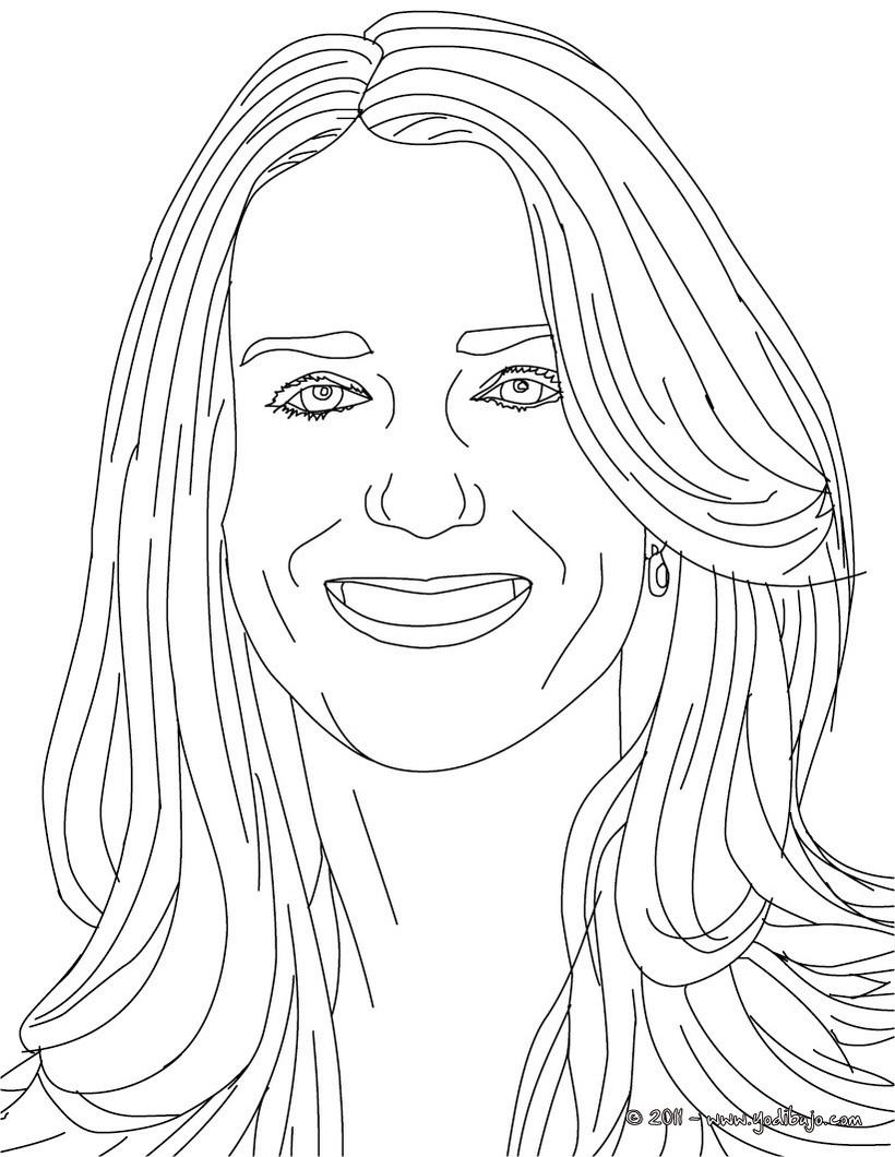 Retrato : Dibujos para Colorear, Juegos Gratuitos, Dibujo para Niños ...