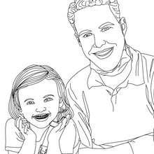 Dibujo de un niño con brackets para colorear - Dibujos para Colorear y Pintar - Dibujos para colorear PROFESIONES Y OFICIOS - Dibujos de DENTISTA para pintar