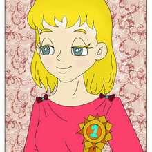 Dibujo infantil de una mama perfecta