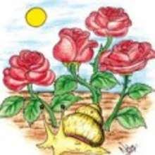 El caracol y el rosal - Lecturas Infantiles - Cuentos infantiles - Cuentos clásicos - Los cuentos de Andersen