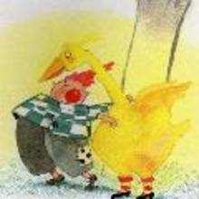 La oca de oro - Lecturas Infantiles - Cuentos infantiles - Cuentos clásicos - Los cuentos de Grimm