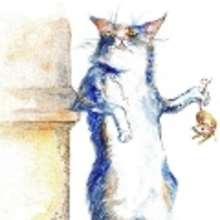 El gato y el ratón hacen vida común - Lecturas Infantiles - Cuentos infantiles - Cuentos clásicos - Los cuentos de Grimm