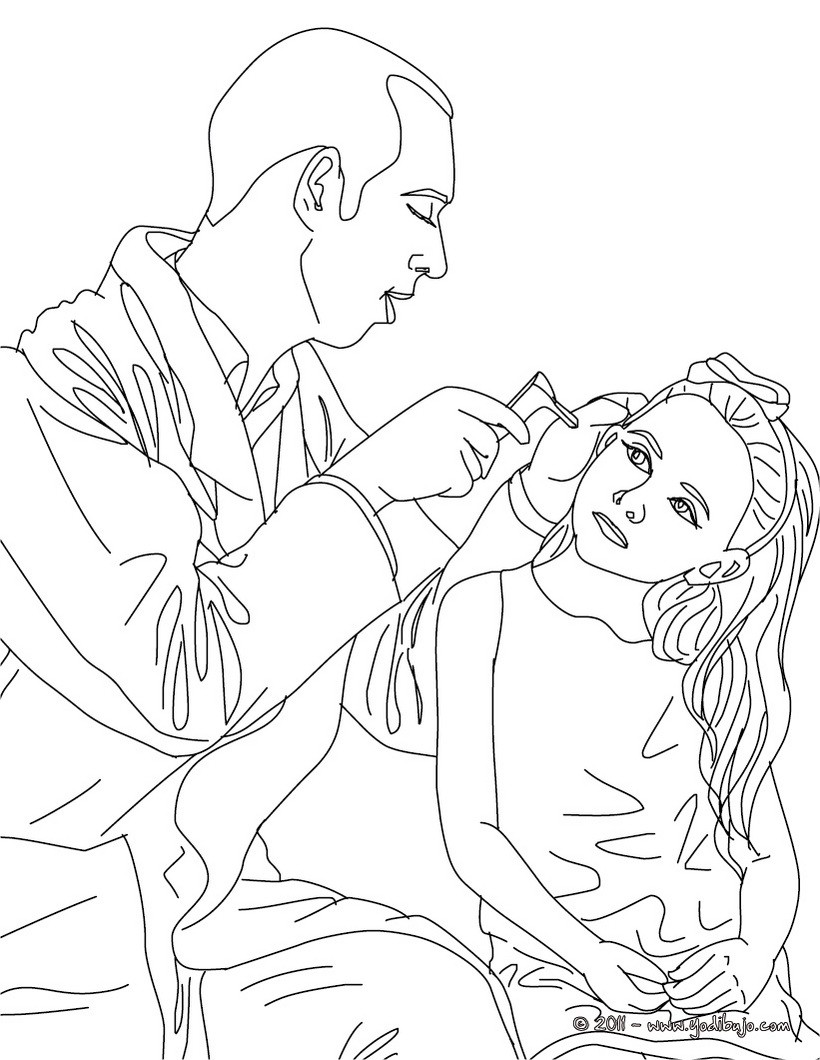 barbie doctor coloring pages