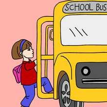 Puzzle autobus del cole