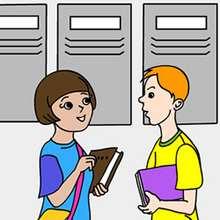 Rompecabezas alumnos en el cole