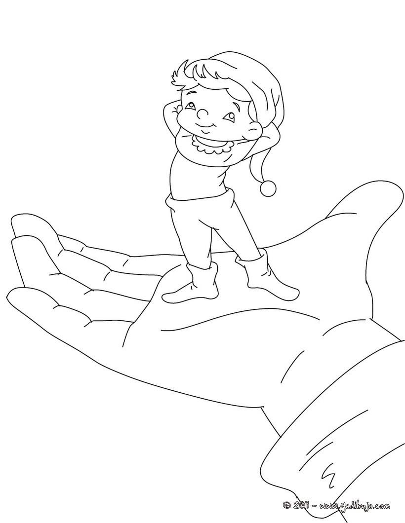 Dibujos para colorear pulgarcito - es.hellokids.com