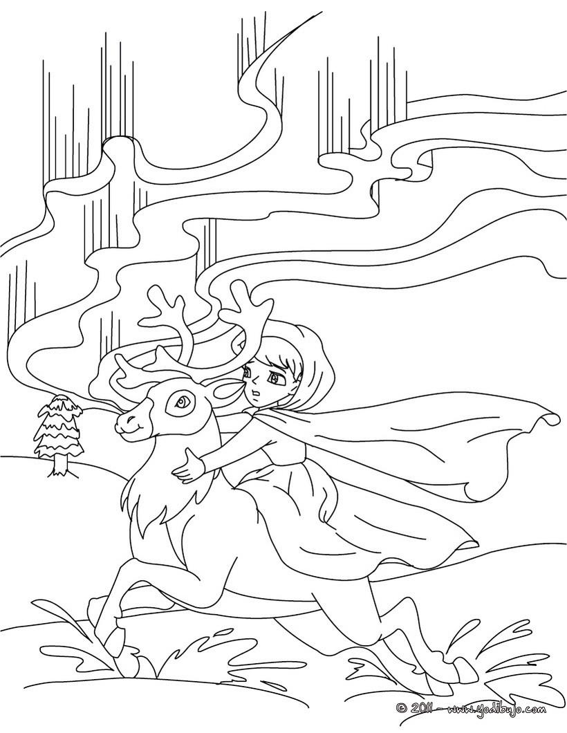 Dibujos para colorear cuento el duende de la tienda - es.hellokids.com