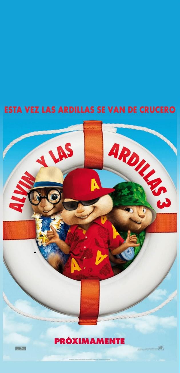 ALVIN Y LAS ARDILLAS 3, la película