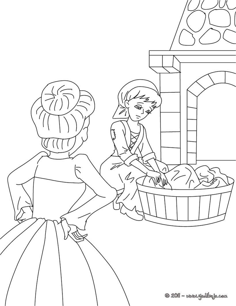 Cenicienta : Dibujos para Colorear, Dibujo para Niños, Videos y ...