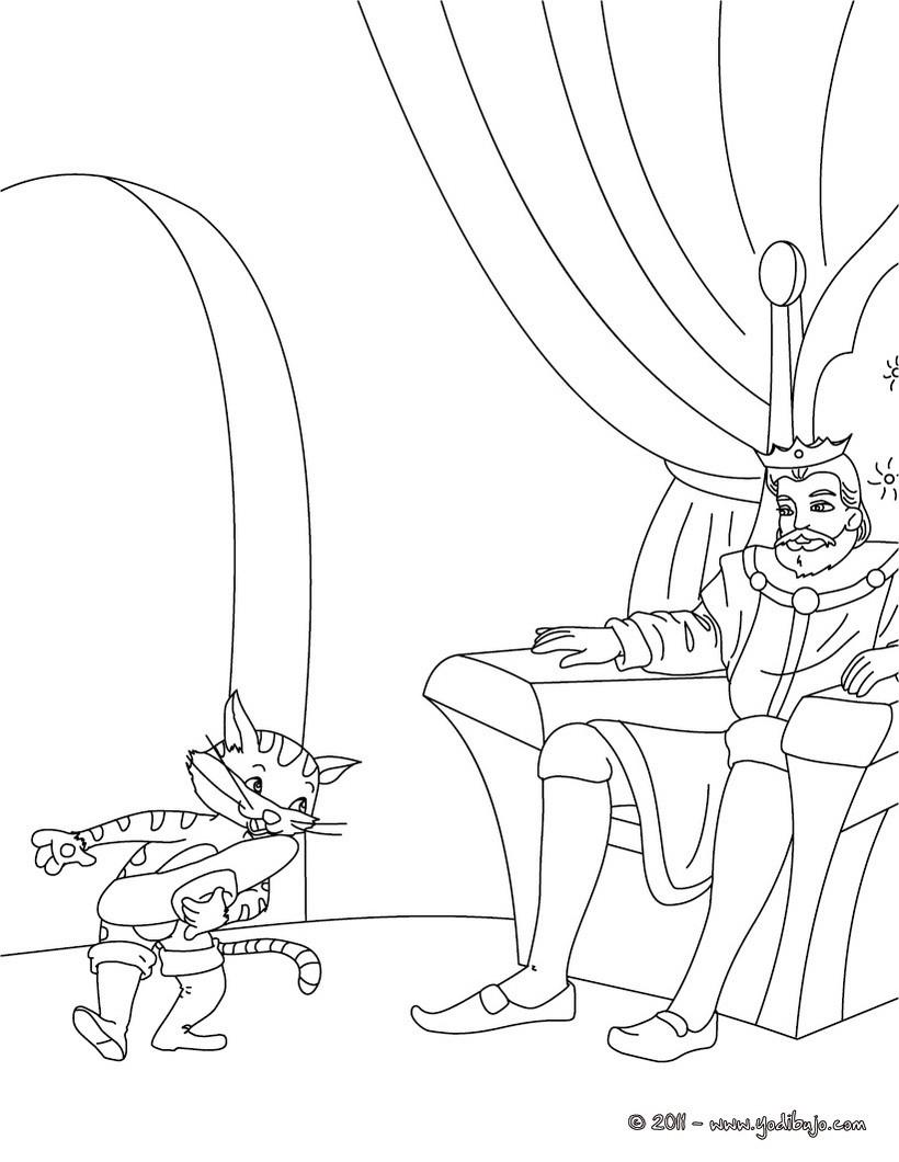Dibujos Para Colorear Cuento El Gato Con Botas Eshellokidscom